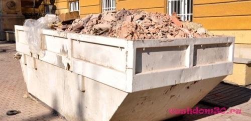 Вывоз мусора контейнер 8 м3 сергиев посадфото488