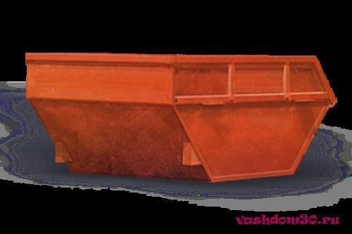Подольск вывоз мусора контейнер 8 м3фото2