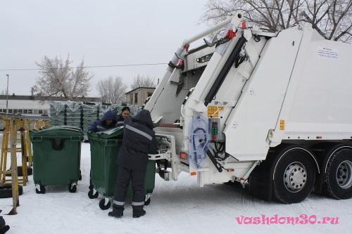 Фрязино мусорный контейнерфото552