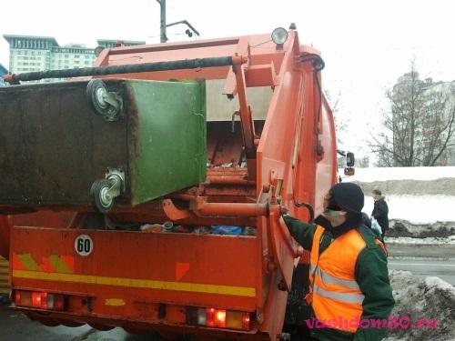 Вывоз мусора контейнер 20 м3 москвафото1067