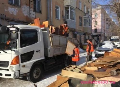 Вывоз мусора контейнер 27 м3 бронницыфото1711