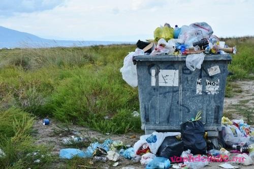 Вывоз мусора контейнер 27 м3 нахабинофото990