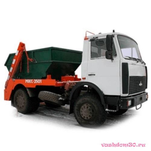 Вывоз мусора контейнер москвафото700