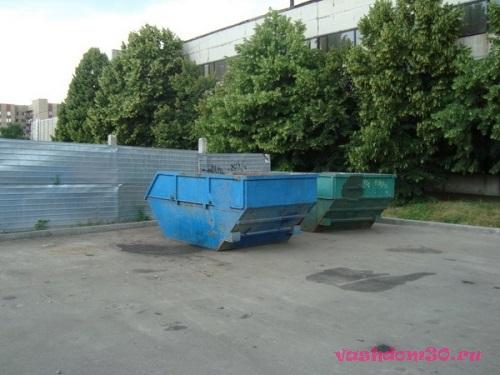 Контейнер мусорный большойфото1254