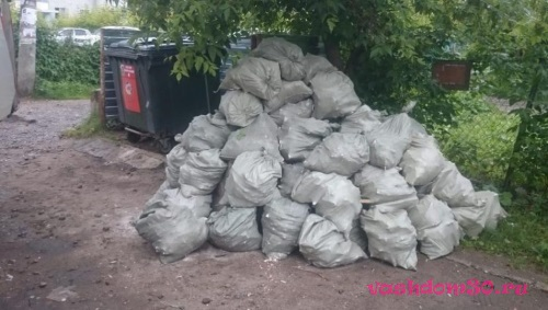 Вывоз мусора алексеевскаяфото1373
