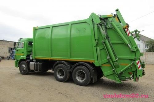 Вывоз мусора в барвихефото1381