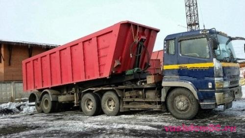 Вывоз строительного мусора контейнер 8 м3 электростальфото1637
