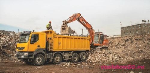 Где временно установить контейнер для строительного мусорафото1227