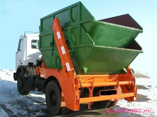 Камаз вывоз мусорафото255