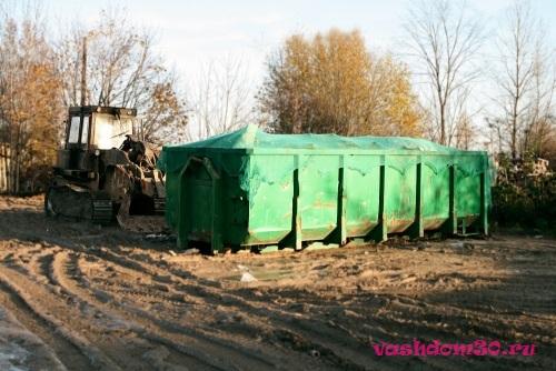 Как заказать контейнер для вывоза мусорафото1894