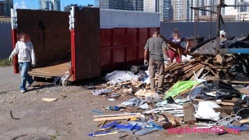 Вывоз мусора в люберцах и люберецком районефото942