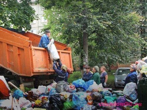 Вывоз мусора домодедовофото695