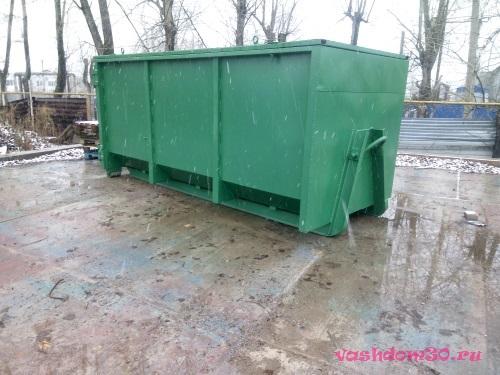 Красногорск вывоз мусора контейнерфото717