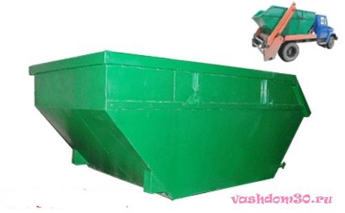 Вывоз мусора контейнером в мофото294