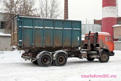 Вывоз строительного мусора в москве контейнерфото922