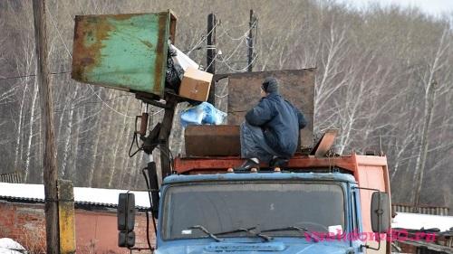 Оказание услуг по вывозу мусорафото1075