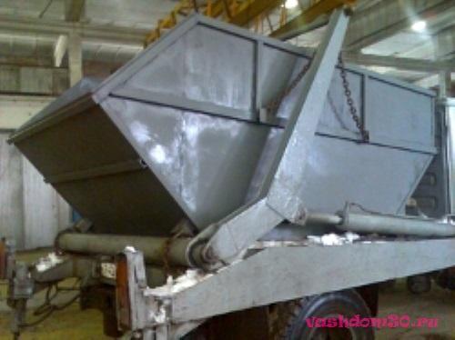 Вывоз мусора контейнер 27 м3 балашихафото1221