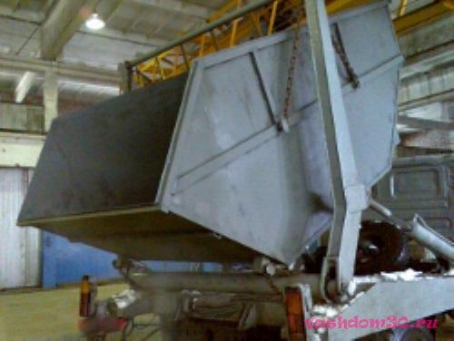 Мусорный контейнер бронницыфото690