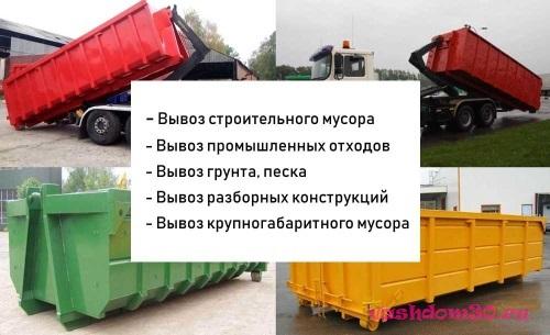 Вывоз мусора бунинская аллеяфото1256