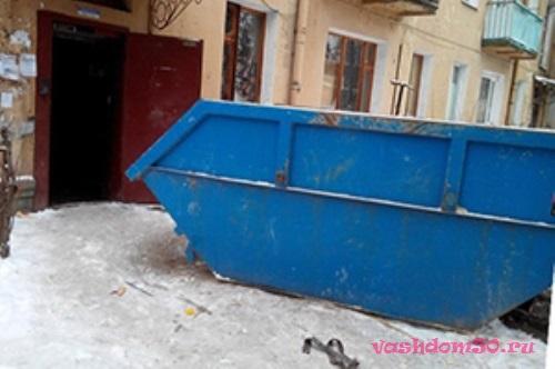 Вывоз мусора из капотнифото1915