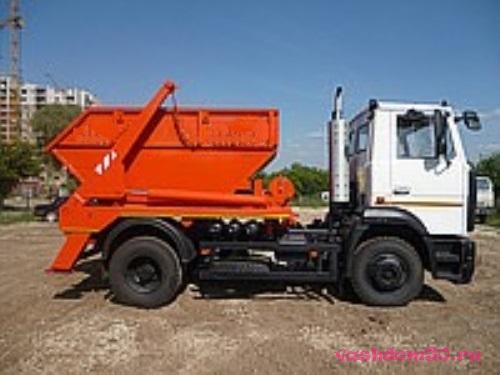 Заказать контейнер для вывоза мусора москвафото1352