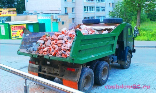 Вывоз мусора контейнер пушкино московская областьфото1567