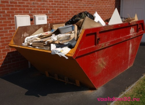 Аренда мусорного контейнера 20 м3 ценафото1585