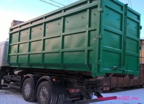 Вывоз мусора контейнер 8 кубовфото485