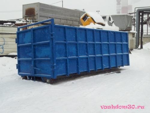 Вывоз строительного мусора контейнер 8 м3 москва ценафото1613