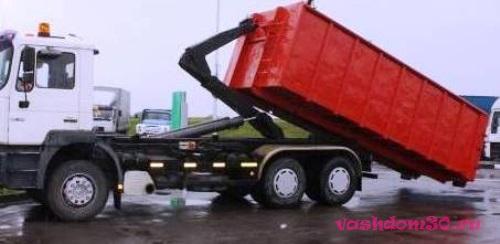 Вывоз мусора мусоровозом hinoфото1834