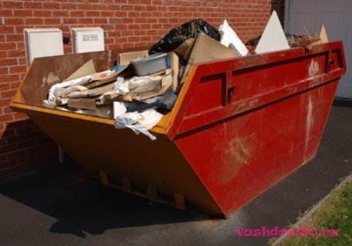 Переделкино вывоз мусорафото255