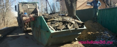 Вывоз мусора александровский садфото1062