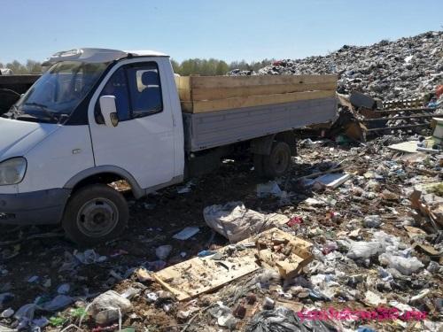 Контейнер для строительного мусорафото1158