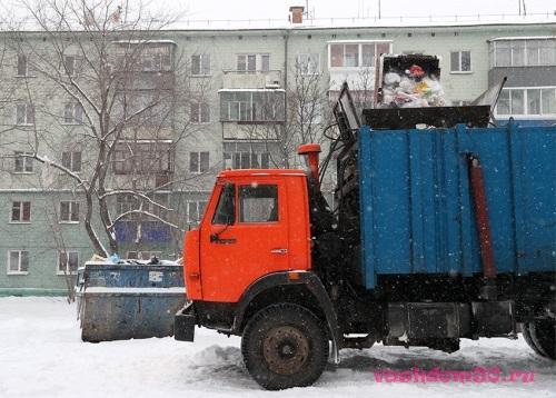 Вывоз мусора контейнер 20 м3 серпуховфото1507