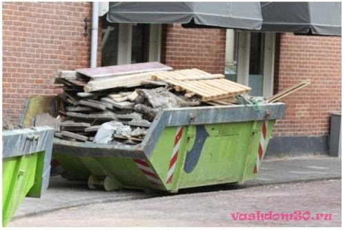 Вывоз мусора мультилифт москвафото1555