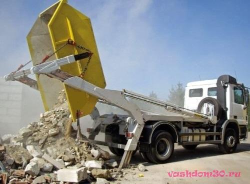 Вывоз строительного мусора контейнер 8 м3 солнечногорскфото948