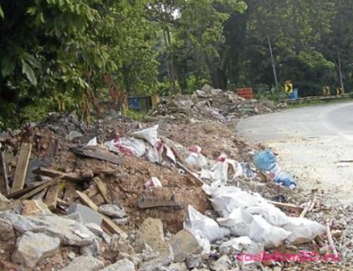 Вывоз мусора боровицкаяфото1444