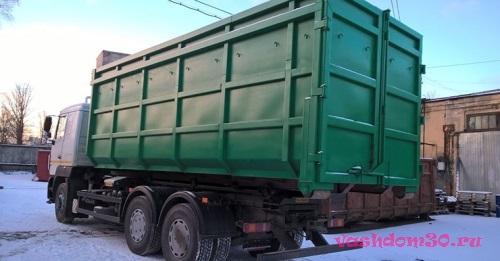 Пушкино мусорный контейнерфото671