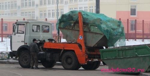 Заказать вывоз мусора контейнерфото780