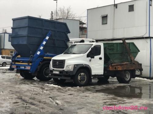 Вывоз мусора в районе ивановскоефото1074