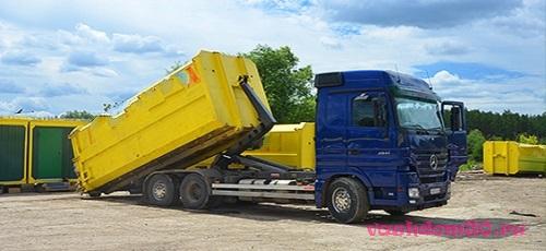Вывоз бытового мусора в пушкинофото892