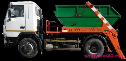 Бесконтейнерный вывоз мусорафото1462
