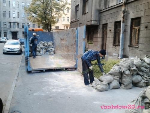 Вывоз мусора котловкафото1299