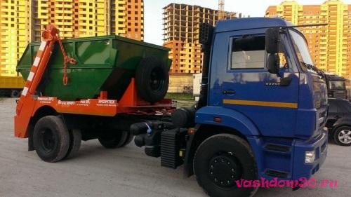 Зил 8 м3 для вывоза мусорафото1057