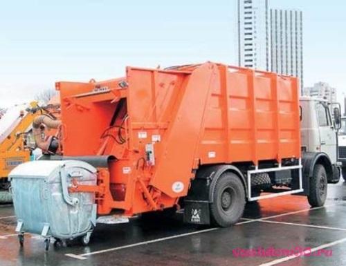 Вывоз мусора в железнодорожномфото389