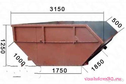 Контейнер для мусора 8 куб орехово-зуевофото284