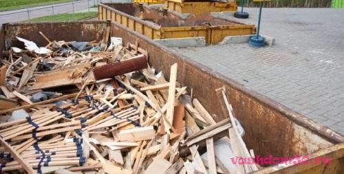 Вывоз мусора дмитровский район контейнерфото1285