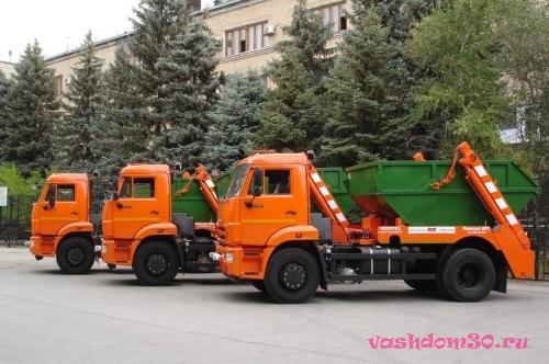 Заказ контейнера мусорного в москвефото477