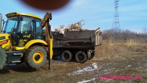 Уборка и вывоз мусора из юваофото1367