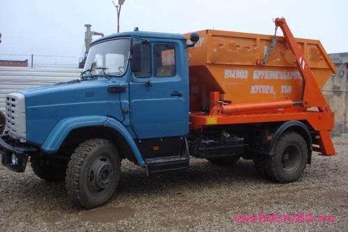 Аренда контейнера для вывоза строительного мусорафото1826